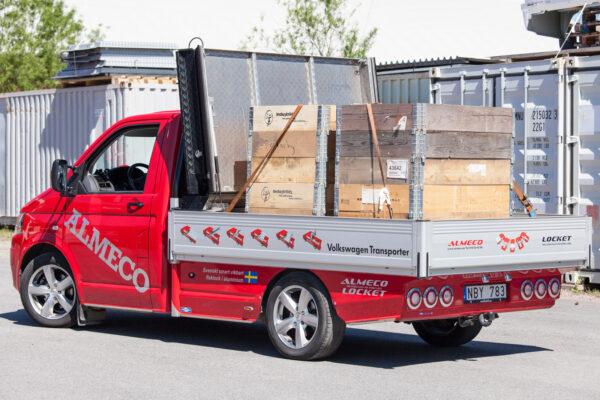 Almecolock flaklock pickup VW Transporter T5 8