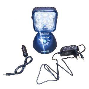 Magnetfotlampa LED laddningsbar