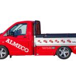 Almecolock flaklock pickup VW Transporter T5 13