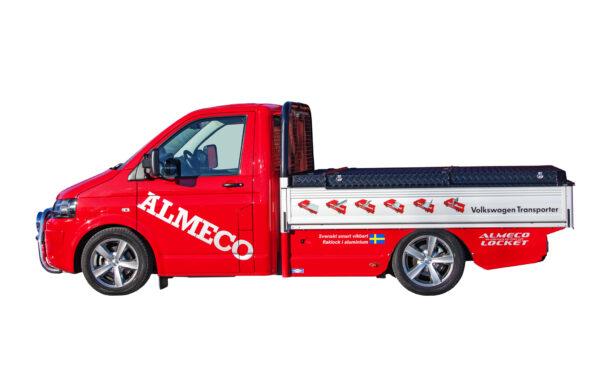 Almecolock flaklock pickup VW Transporter T5 4