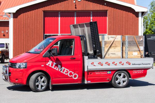 Almecolock flaklock pickup VW Transporter T5 5