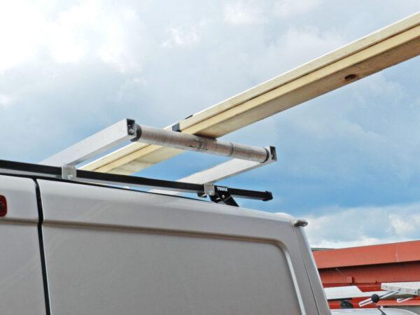 Långlasthållare – lång last på takräcke 5