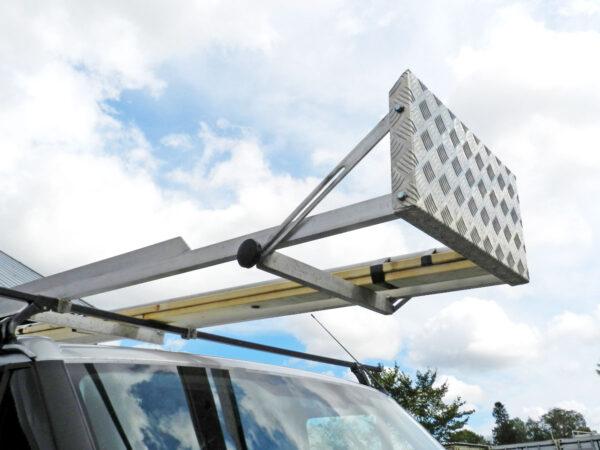 Långlasthållare – lång last på takräcke 3