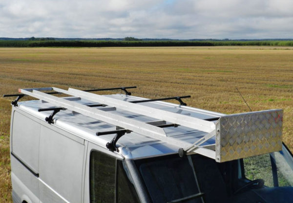 Långlasthållare – lång last på takräcke 4