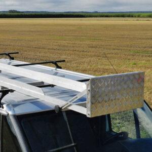 Långlasthållare – lång last på takräcke