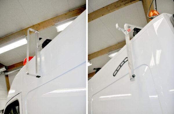 Steghållare för sidomontering 1