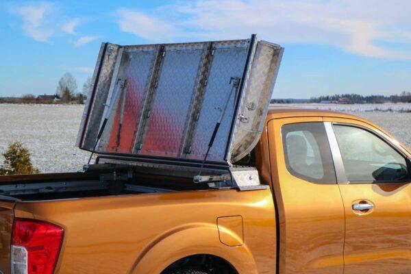 Almecolock flaklock pickup Nissan NP300 Navara King Cab 1½ 2016- 7