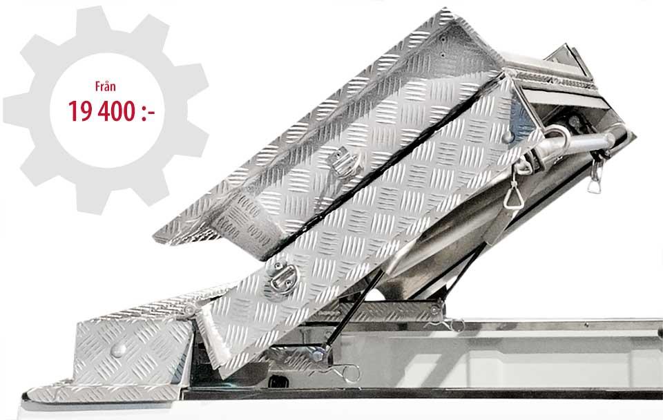 Almecolocket vikbart flaklock i aluminium till pickup 3