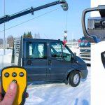 Kranmontering på lätt och medeltung transportbil 27