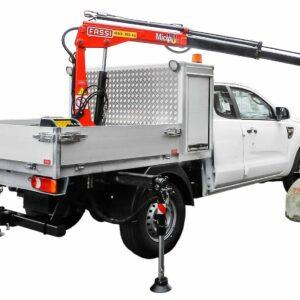 Kranbil pickup för gruvdrift