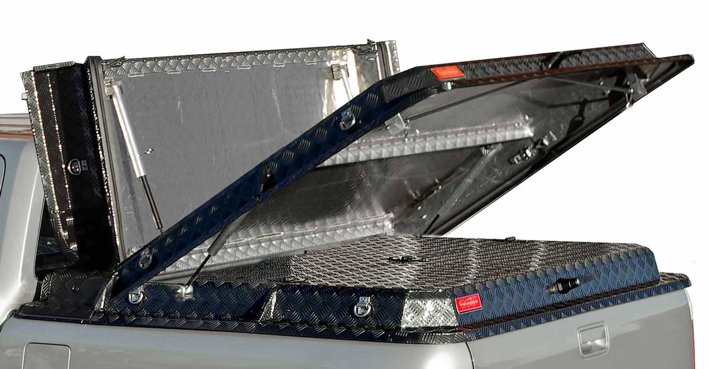 Almecolocket vikbart flaklock i aluminium till pickup 4