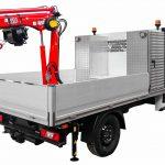 Kranmontering på lätt och medeltung transportbil 31