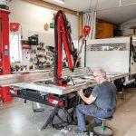 Kranmontering på lätt och medeltung transportbil 29