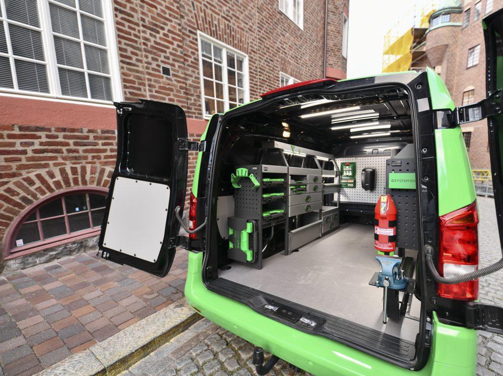 System Edström serviceinredning för servicebilar 3