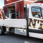 Kranmontering på lätt och medeltung transportbil 26