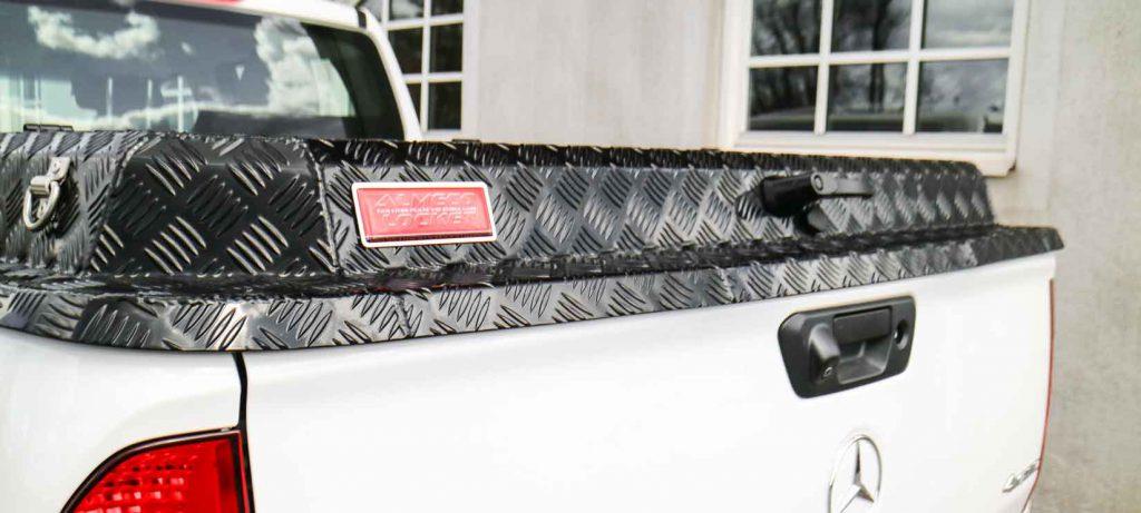 Almecolocket vikbart flaklock i aluminium till pickup 1