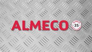 Almeco logo fivebar.