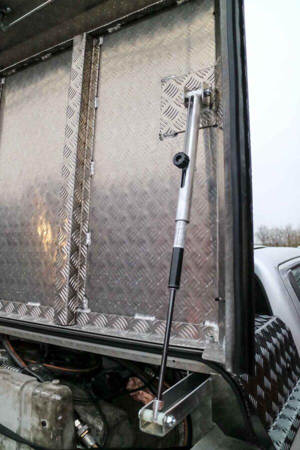 Almecolock XL flaklock pickup med extra höjd 8
